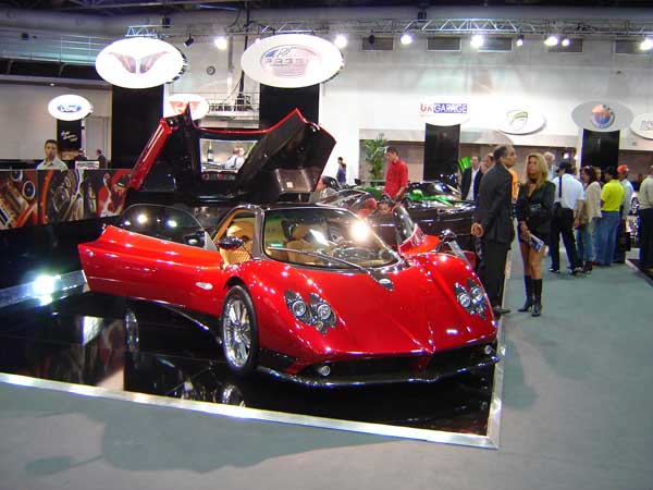 Pagani Zonda at Top Marques Monaco 2006 - photo by David Jones of Red Dragon Motorsport UK and The MotorWay Magazine